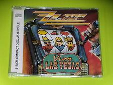 CD SINGLE MAXI - ZZ TOP - VIVA LAS VEGAS  - 1992