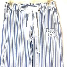 Kentucky Wildcats Sleepwear Pants Concepts Pajama Lounge Blue Stripe Adult Small