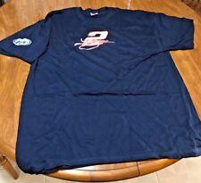 Kurt Busch #2 Blue Cotton X-Large Nascar T-shirt / Miller Lite New