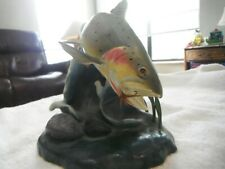 Danbury Mint Gentle Yellowstone Trout Fish Sculpture by Franz Dutzler