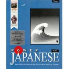 Power Japanese 2.0 PC CD learn spoken written language learning vocabulary words