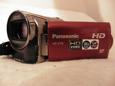 UNTESTED PANASONIC HC-V10 CAMCORDER SD SDHC CARD HD HIGH DEFINITION VIDEO CAMERA