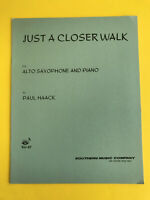 Just A Closer Walk, Paul Haack, for Alto Sax & Piano