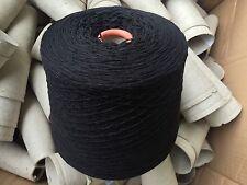 100 % Lambswool Yarn Black 950 grams.4plyHand/machine Knit. UK Spun.SALE£5 Off