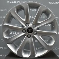 """GENUINE LAND ROVER DISCOVERY 4 HSE STYLE 5002 20"""" INCH SILVER ALLOY WHEELS X4"""