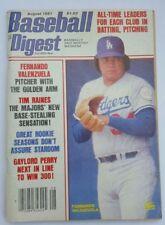 1981 Baseball Digest: Fernando Valenzuela- Dodgers