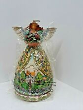 "2004 Jim Shore Heartwood Creek ""Summer Restores the Soul"" Angel 117673 9.5"" Tall"