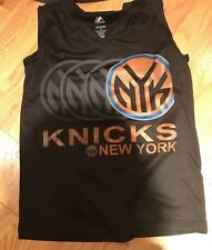 New York Knicks NYK Tank Top Shirt Majestic Youth M