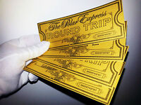 WOW!  POLAR EXPRESS Ticket -  BELIEVE TICKET. Great CHRISTMAS GIFT Please See!!