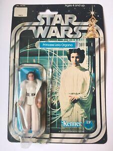 1977 Kenner Star Wars Princess Leia Organa No. 38190 Card 12 Back