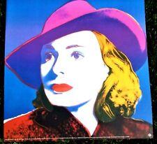 Andy Warhol - Rare Silkscreen poster - Ingred