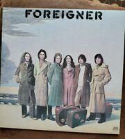 Foreigner, Self-titled LP, 1977, SD 19109, Atlantic,  EX, Vinyl LP,