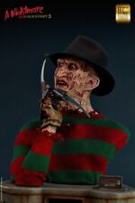 Nightmare Robert Englund Freddy Krueger 1:1 Life-Size Bust Elite Cinemaquette