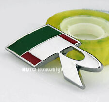 Auto Metall Schriftzug Aufkleber Emblem Plakette für Grüne R Racing sports NEW