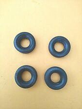 4 Gummi-Reifen für Blechspielzeug-Autos-23 mm- Durchmesser