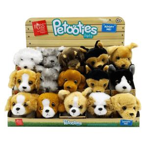 "PETOOTIES PETS 4"" 10cm Mini Plush Puppy Dog Wave 4"