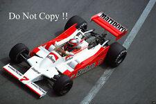 John Watson McLaren M28 Monaco Grand Prix 1979 Photograph 3