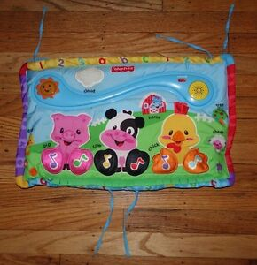 Fisher-Price Baby Kick & Play Musical Piano board infant toy