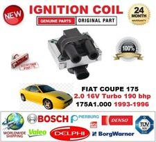 Per FIAT COUPE 175 2.0 16 V Turbo 190 CV 175A1.000 1993-1996 BOBINA DI ACCENSIONE 2 Pin