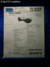 Sony Service Manual ZS X3CP Audio System (#6121)