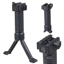 Vertical Hand Front Fore Grip Foregrip Bipod Picatinny Weaver Rail 20mm Hunting
