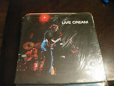 Cream; Live Cream  on LP