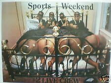 """The 2 Live Crew's """"Sports Weekend"""" Poster"""