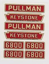 KEYSTONE NO. 6800 PULLMAN DECAL SET