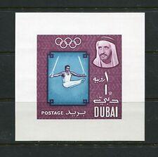 OLYMPICS/GYMNAST - Dubai  - 1964 IMPERF sheet - (SC 52A)- MNH-C218