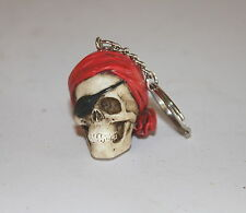 Pirate Skull Key Ring, a Useful, Weird Bizarre Present or Gift - YAR ME HEARTIES