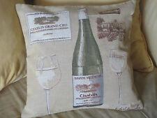 Coussin Vin de Chablis grand cru
