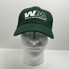 Waste Management WM Hat - Adjustable - Green - Vitronic