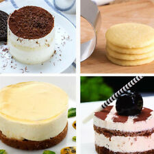 2 Inch Mini Round Mousse Cake Food Grade Stainless Steel Ring Pastry Mold Hot