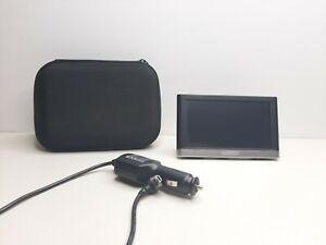 Garmin 145-01615-10 Touch Screen GPS Navigation Bundle w/ Car Charger & Case