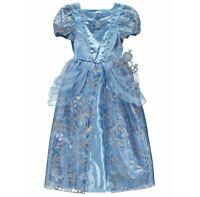 George Disney Cinderella Girls Fancy Dress Outfit Dressing Up Costume