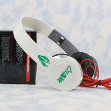 Anime Hatsune Miku Stereo Bass Headband Headphone MP3 Phone PC Sport Headset HOT