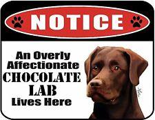 Cuidado con el Sloppy besos Boston Terrier Diversión//Novedad Laminado Signo De Regalo