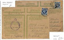 M95 1944 WW2 GB *BEDFORDSHIRE* On Active Service Cover {samwells-covers}PTS