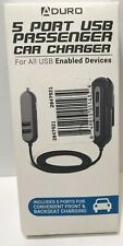 Auduro 5-Port USB Passenger Car Charger New 4.8 Amp Output