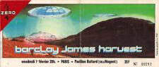 ticket billet stub used place concert BARCLAY JAMES HARVEST 1980 PARIS