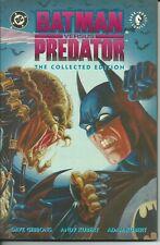 BATMAN  VS  PREDATOR  THE COLLECTED EDITION  TPB - DC / DARK HORSE 1993 ( USA )