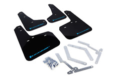 RALLYARMOR 2013-2018 FORD FOCUS ST RS RALLY ARMOR UR MUD FLAPS BLACK/LIGHT BLUE