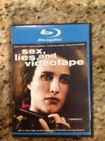 Sex, Lies and Videotape (Blu-ray Disc, 2009)Authentic US Release