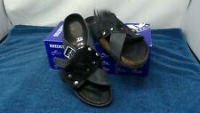 Birkenstock Guam Fur Sandals - Unisex - Size 7WMN/5MN US/5 UK - [Black] - NWB