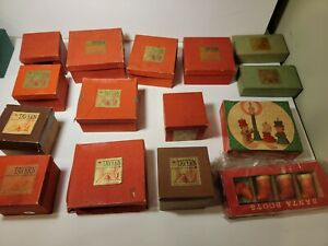 HUGE lot of 44 Pieces in Box Tavern Novelty Candles Christmas Easter Halloween