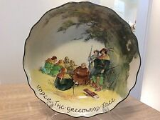 ROYAL DOULTON UNDER THE GREEN WOOD TREE LARGE BOWL EXCELLENT CONDITION