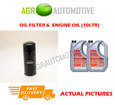 DIESEL OIL FILTER + FS 5W40 ENGINE OIL FOR ISUZU TROOPER 3.0 160 BHP 1998-04