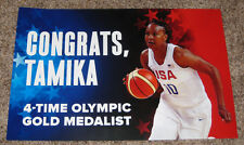 2016 OLYMPIC GOLD MEDALIST TAMIKA CATCHINGS - INDIANA FEVER CELEBRATION PIC SIGN