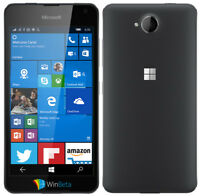 Brand New Microsoft Lumia 650 -16gb (unlocked) Smartphone 4g LTE Dual SIM Black