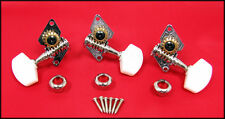 Cigar Box Guitar Parts: Shane Speal Signature 3-String Tuners - 31-031-01